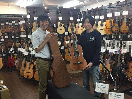 ラストギターさん店内